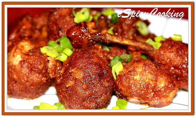 Chicken Lollipops Picture