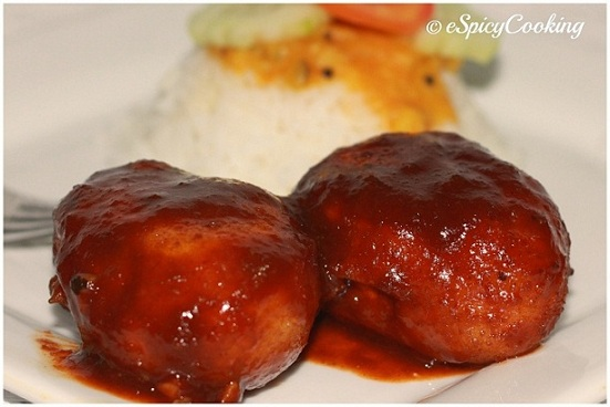 Egg Manchurian Recipe