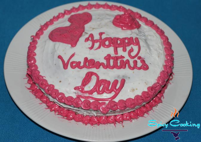 valentines day cake idea