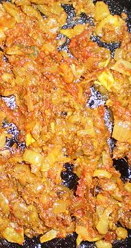 Fried Spicy Masala for Tilapia Fish Curry